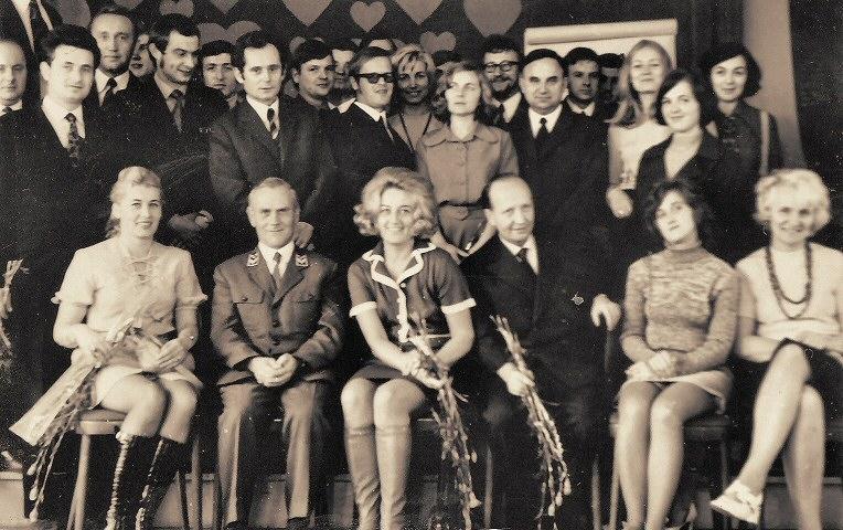 14 X 1973 Spotkanie nauczycieli z okazji Dnia Edukacji Narodowej