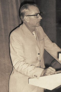 Edward Palka - pierwszy kierownik Warsztatów Szkolnych