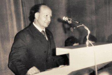 mgr inż. Antoni Paluszyński - pierwszy dyrektor ZS Nr 1 w Kłobucku